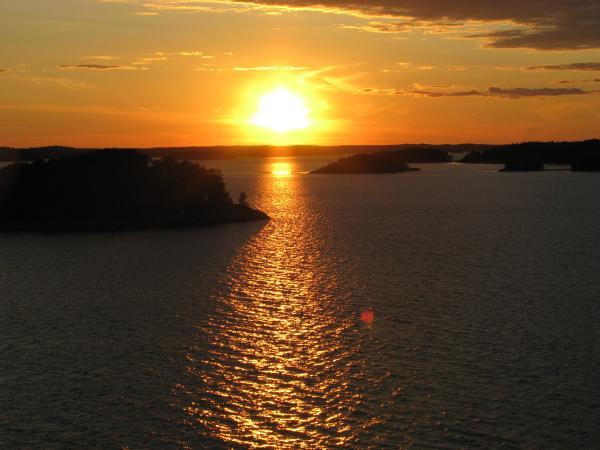 Turku auringonlasku